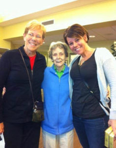 Bonnie Weaver, Dolores Boster and Kate Rome