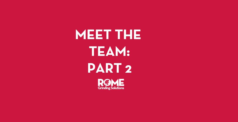 Meet the Team Part 2
