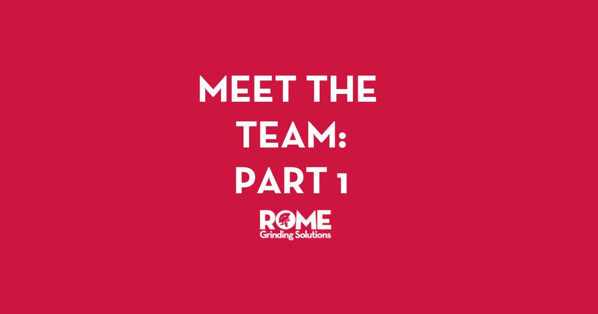 Meet the Team Part 1